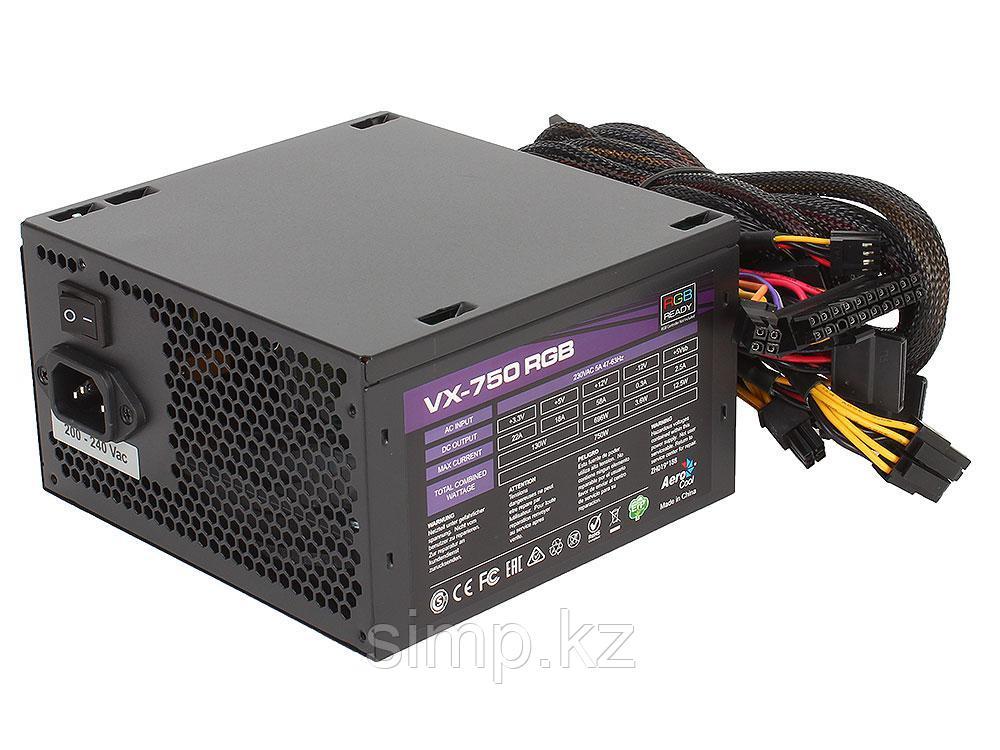 Блок питания ATX 750W AeroCool VX-750