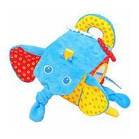 Игрушка МЯКИШИ 306 Кубик Слон, фото 1