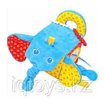 Игрушка МЯКИШИ 306 Кубик Слон