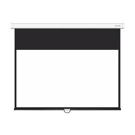 Экран механический, Deluxe, DLS-M229-185W