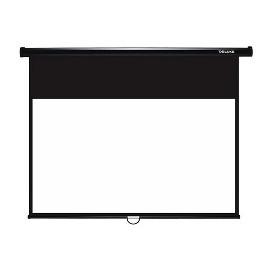 Экран механический, Deluxe, DLS-M229-185, Настенный/потолочный, Рабочая поверхность 221х125 см.