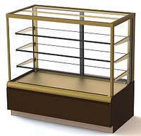 Кондитерская витрина ВХСв - 1,3д Carboma Cube