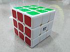 Кубик Рубика 3 на 3 Qiyi Cube в черном пластике, фото 3