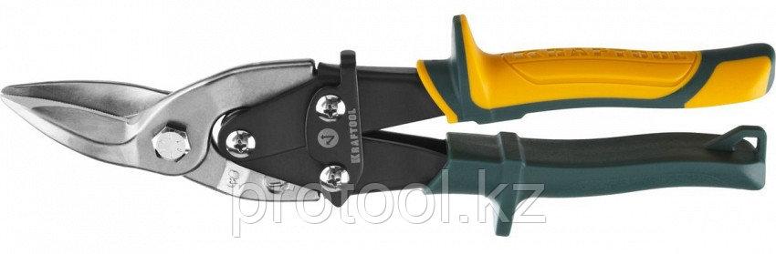 KRAFTOOL Ножницы по металлу Alligator, левые, Cr-Mo, 260 мм, фото 2