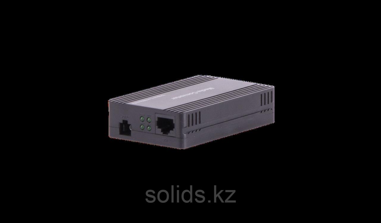 Конвертер GIGALINK UTP, 100Мбит/c, WDM, без LFP, SM, SC, Tx:1310/Rx:1550, 18 дБ (до 20 км) пластик, шт