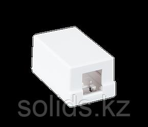 Корпус настенной розетки под 1 модуль Keystone10 шт.
