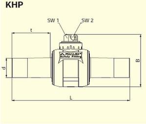 Электросварные фитигни AKHP d110/63