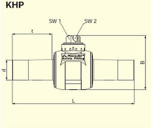 Электросварные фитигни AKHP d110/63, фото 2