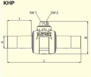 Электросварные фитигни AKHP d110/90
