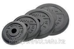 Диски профессиональные обрезиненные d=51 мм (1,25кг)