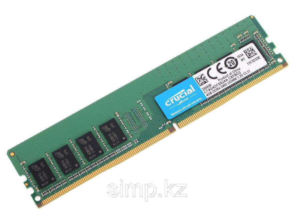 Оперативная память 4Gb DDR4 2400MHz Crucial