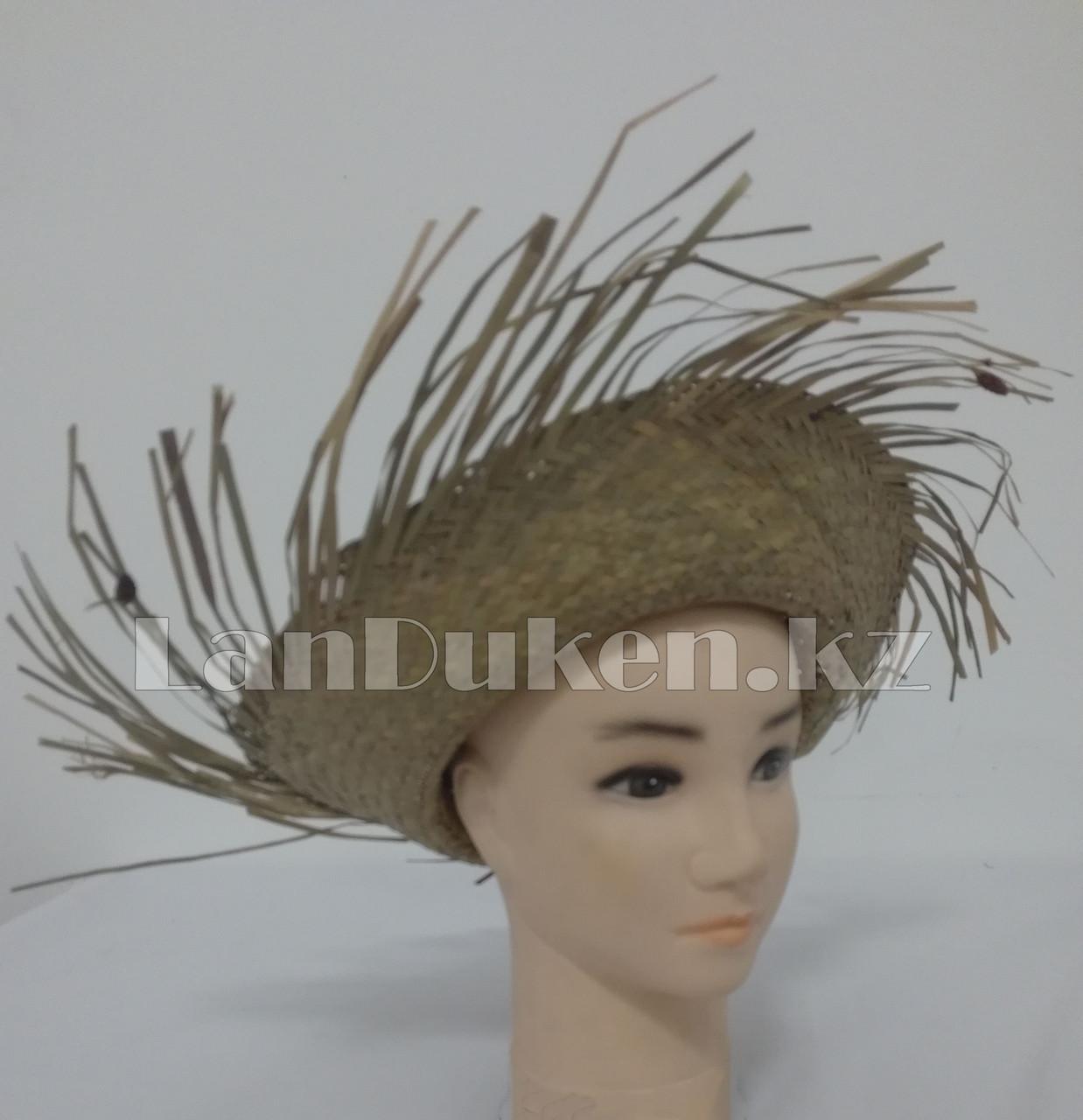 Шляпа гавайская соломенная