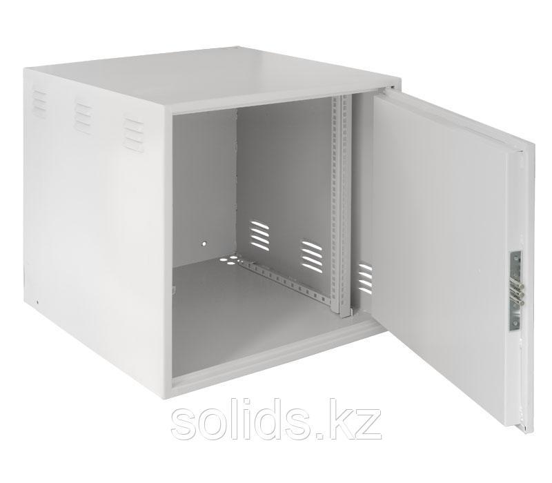 Настенный антивандальный шкаф 9U Ш600хВ470хГ450мм
