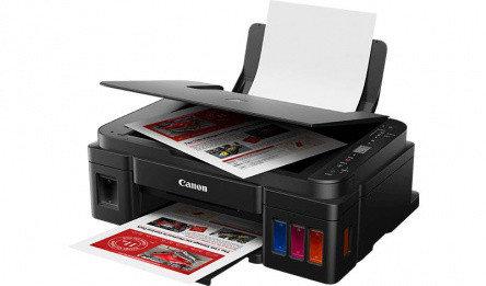 Струйный цветной принтер/сканер/копир Canon МФУ PIXMA G3410 2315C009AA(МФП), фото 2