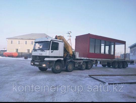 Перевозка контейнера 40 футов
