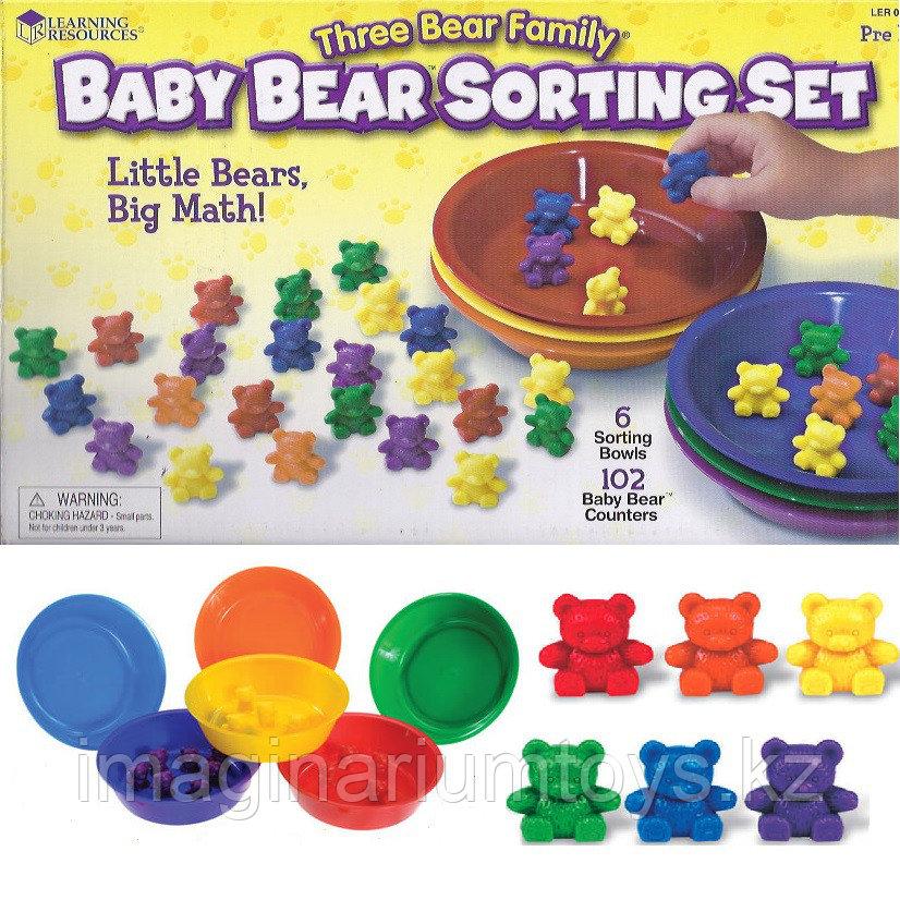 Развивающий набор «Медвежата» Learning Resources