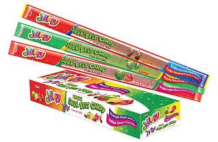 Мармеладные пластинки Jellopy sourbelt MIX 20 гр (24 шт в упаковке)