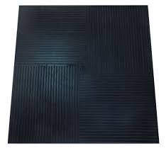 Резиновый диэлектрический коврик 750х750