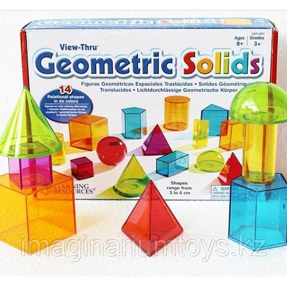 Развивающий набор «Геометрические фигуры» Learning Resources