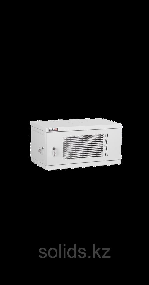 Настенный разборный шкаф  9U перфорация 600х450