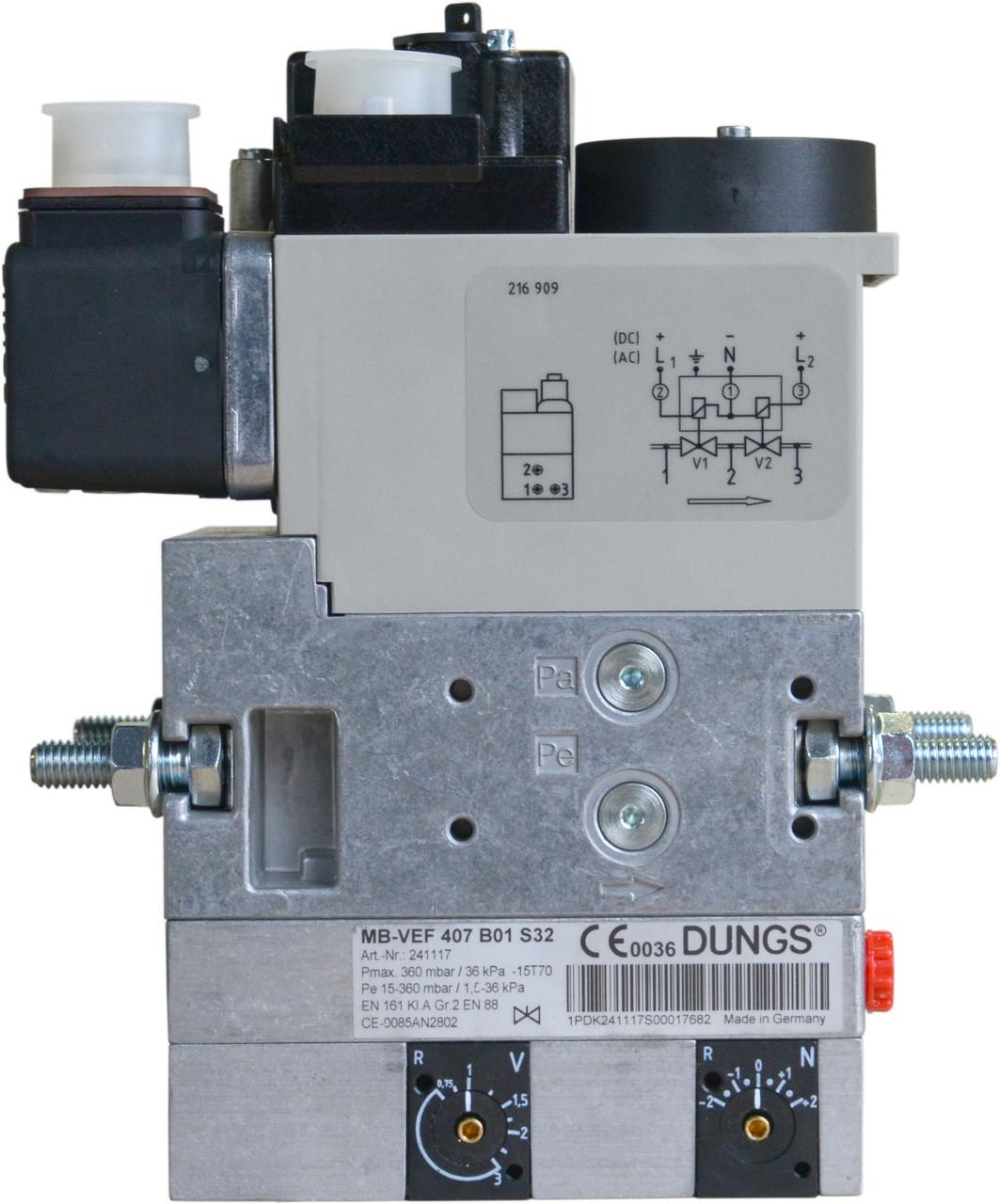 Газовый мультиблок Dungs MB-VEF 412 B01 S32  арт. №239076