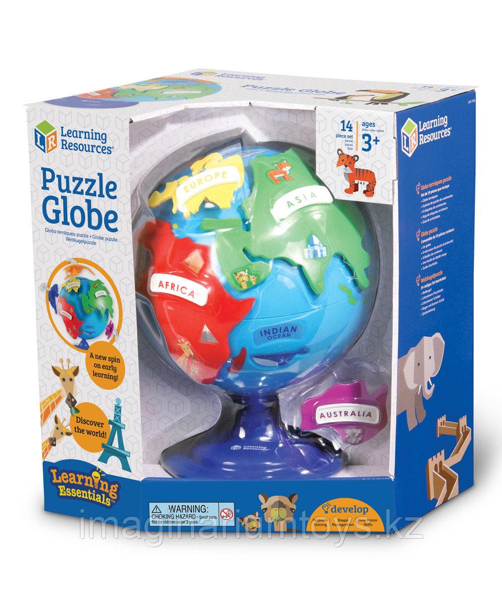 Развивающая игрушка «Мой первый Глобус-пазл» Learning Resources