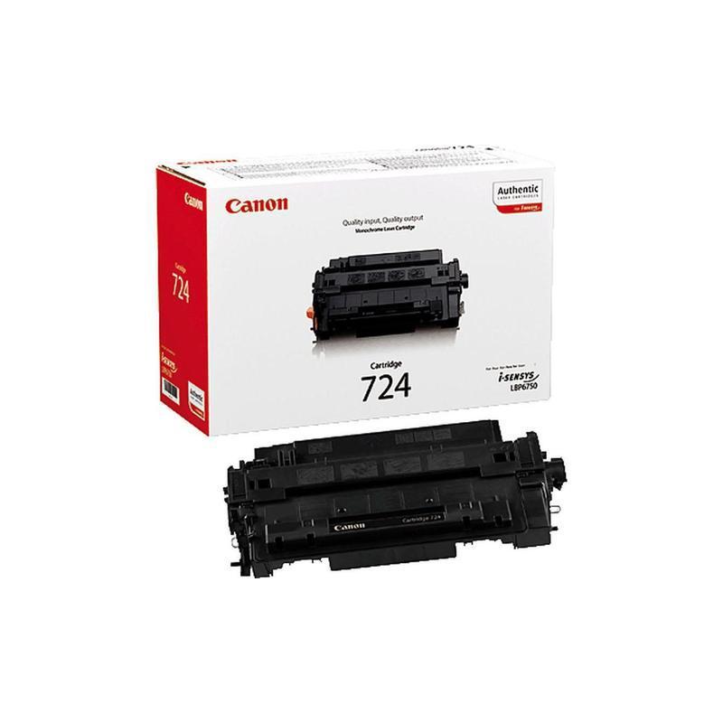Картридж Canon 724 Лазерный/черный 3481B002AA