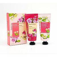Farm Stay Pink Flower Blooming Hand Cream -Подарочный набор с кремами для рук на основе экстракта цветов