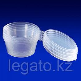 Соусник 100мл. овальный,  прозрачный,без крышки ПП  800 шт/кор АС