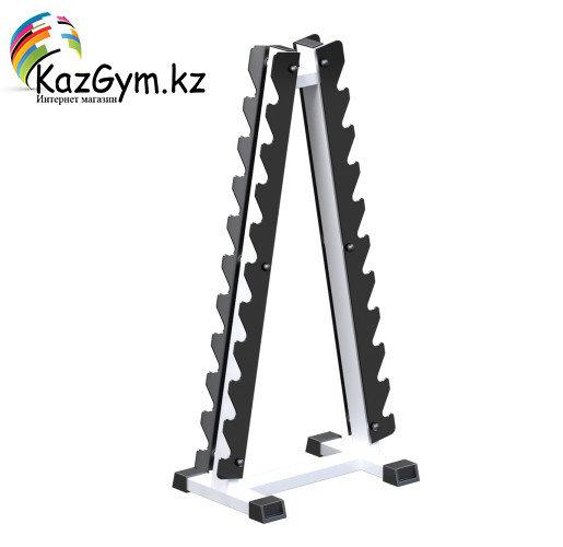 Гантельная стойка на 10 пар Пирамида (AR122)