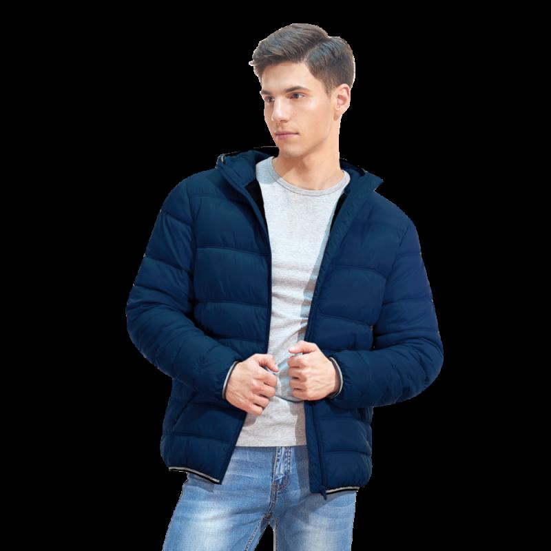 Мужская куртка с капюшоном, StanAir, 81, Тёмно-синий (46), XXXL/56