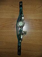 Часы женские винтажные с украшением , фото 1