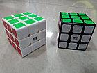 Кубик Рубика 3 на 3 Qiyi Cube в белом пластике, фото 4