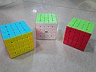 Кубик Рубика 5 на 5 Qiyi Cube в цветном пластике, фото 4