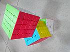 Кубик Рубика 5 на 5 Qiyi Cube в цветном пластике, фото 3