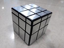 Кубик Рубика Зеркальный Mirror серебряный