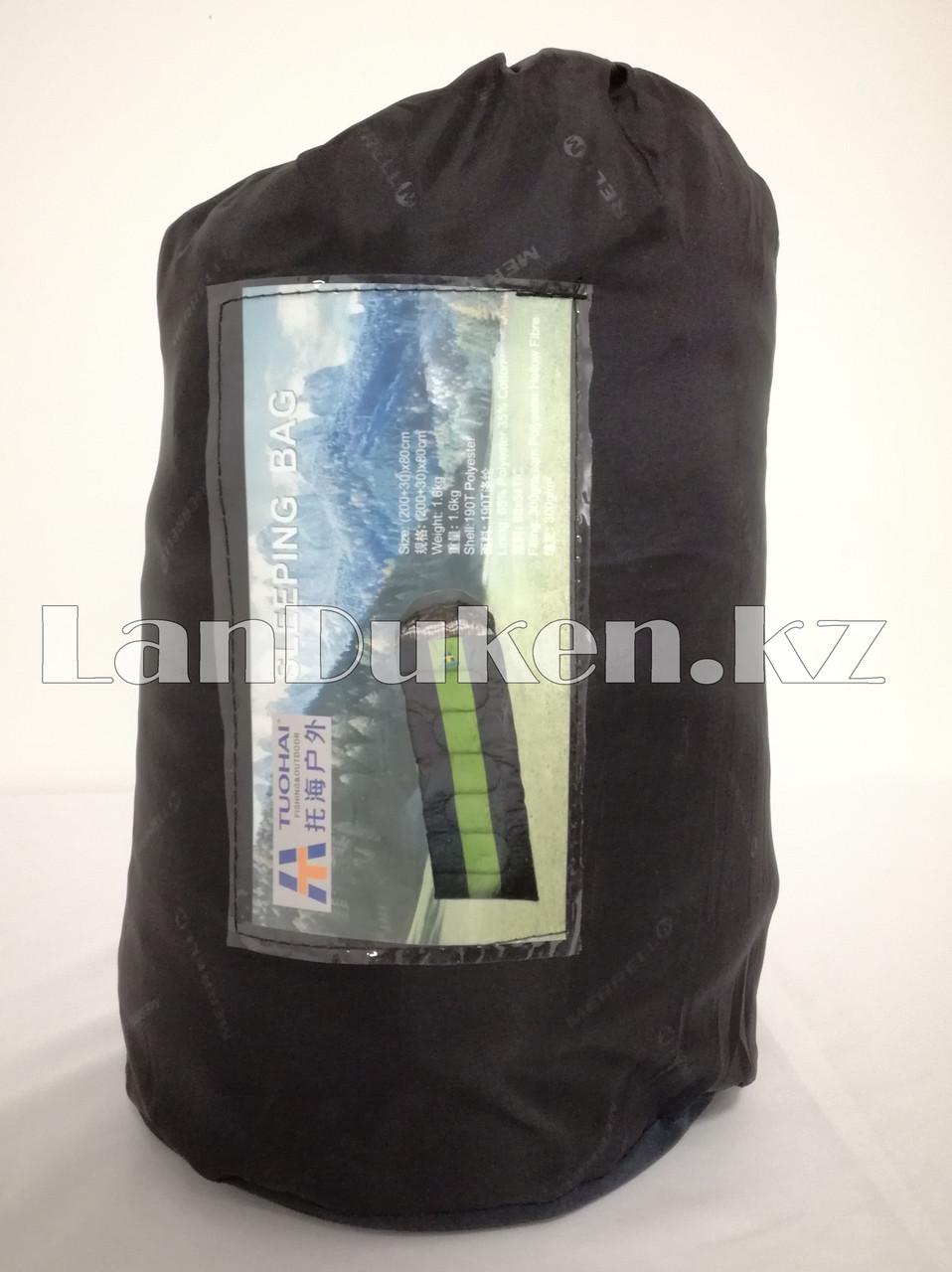 Спальный (туристический) мешок TUOHAI (200+30)Х80 см - фото 1