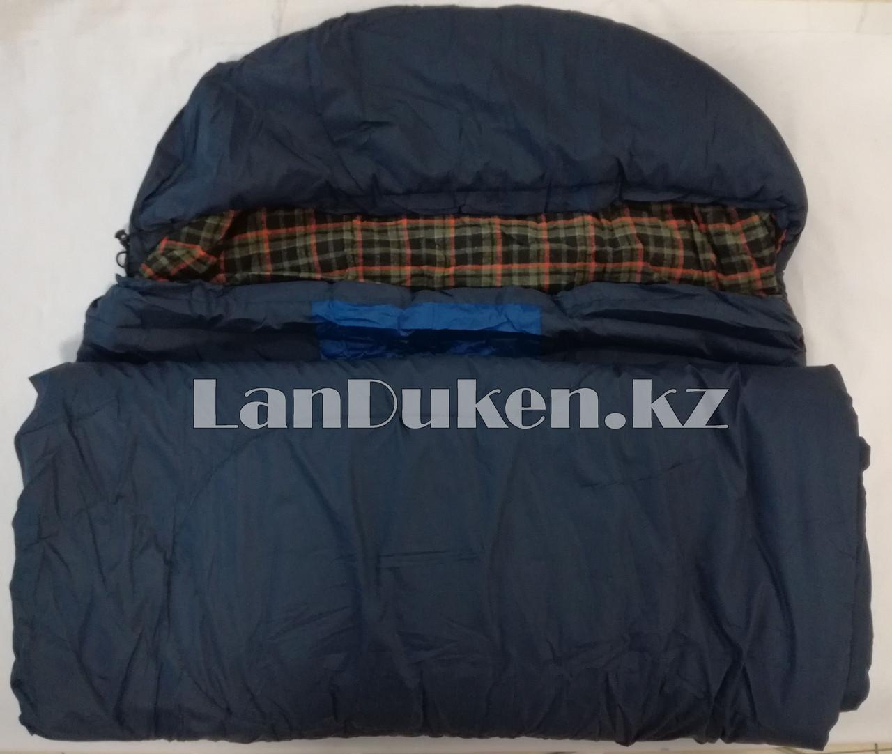 Спальный (туристический) мешок TUOHAI (200+30)Х80 см - фото 2