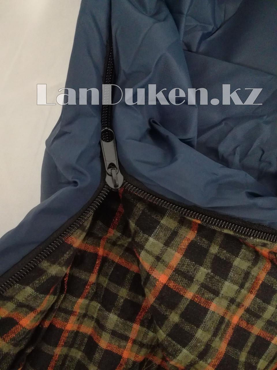 Спальный (туристический) мешок TUOHAI (200+30)Х80 см - фото 5