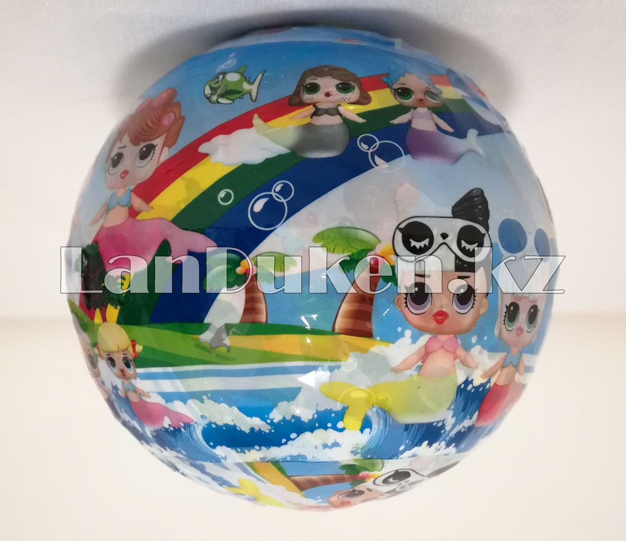 Кукла-сюрприз в шарике LOL Surprise! русалка (голубая) - фото 9