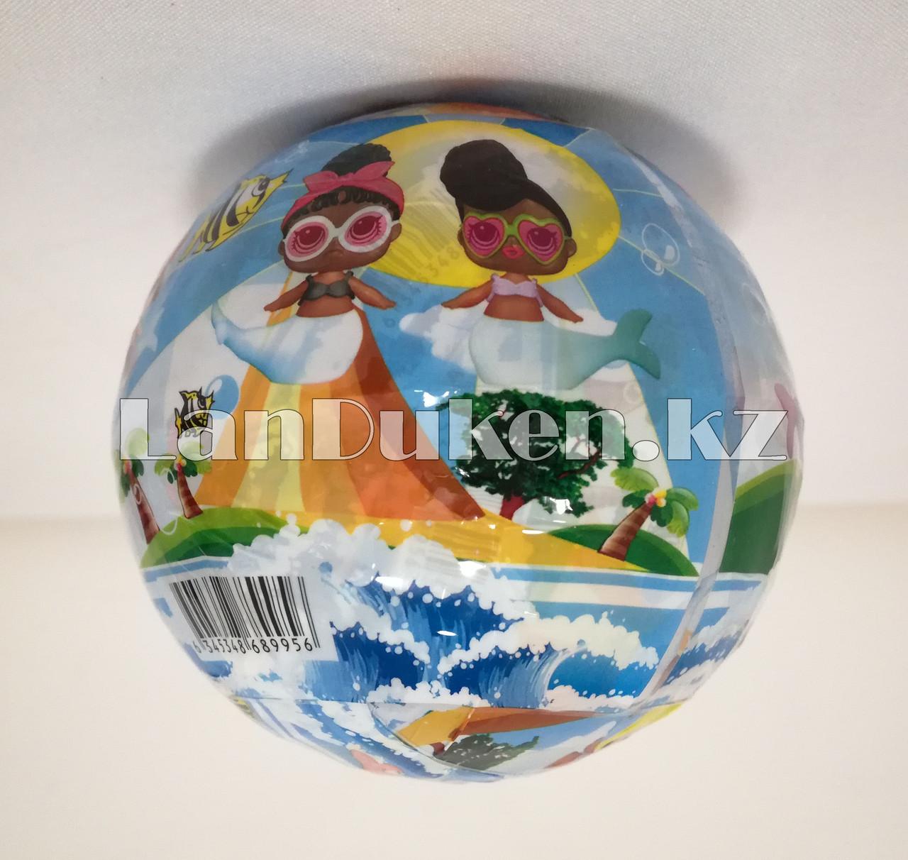 Кукла-сюрприз в шарике LOL Surprise! русалка (голубая) - фото 6