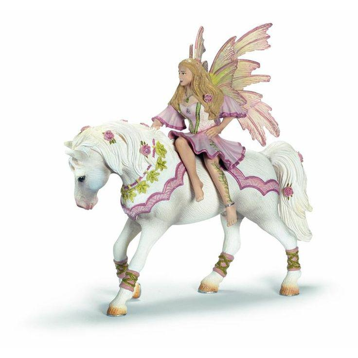 "Schleich Фигурка ""Эльфы"" - Фея на лошади, 15 см"