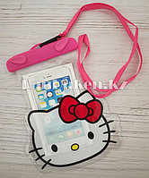 Водонепроницаемый чехол Hello Kitty розовый
