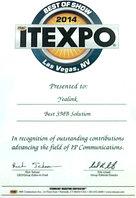 Компания Yealink награждена дипломом в номинации «Лучшее решение для малого и среднего бизнеса»