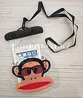 Водонепроницаемый чехол черный обезьяна