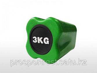 Бодибар FT 3 кг светло-зеленый наконечник