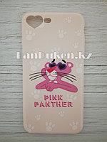 Чехол для смартфона гелевый IPHONE 7P/8P розовая пантера