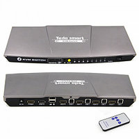 KVM Switch HDMI+USB 4 port (HKS0401A20) Tesla Smart