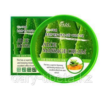 Ekel Aloe Massage Cream -Крем для тела с экстрактом алоэ для самомассажа