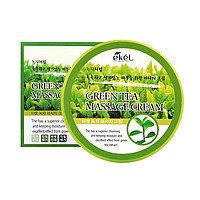 Ekel Green Tea Massage Cream-Крем для тела с экстрактом зеленого чая для самомассажа